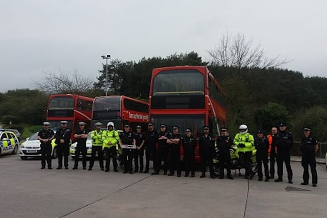 Police to use double decker buses to crack down on bad drivers