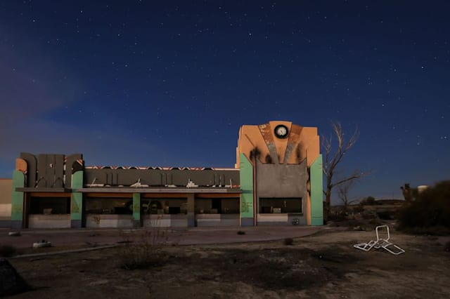 Eerie pictures show remains of America's first waterpark