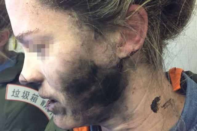 Headphones explode on board flight