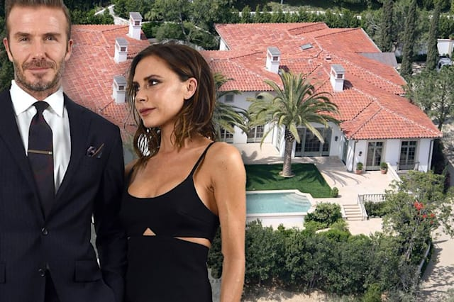 Beckhams selling their £24m LA mansion