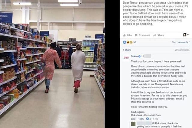 Tesco customer brands women 'disgusting' for going shopping in their pyjamas