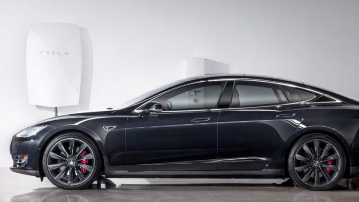 Tesla powerwall Model S