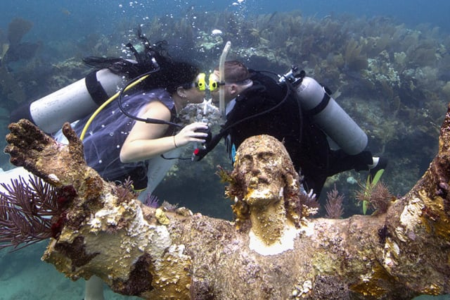 Christ of the Abyss Statue Key Largo Florida Keys