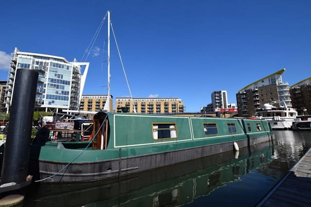 The Docklands narrowboat