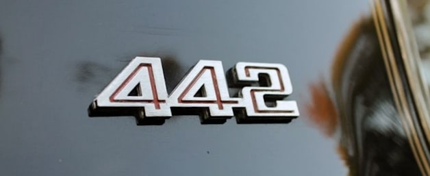 1980 Oldsmobile 442 badge