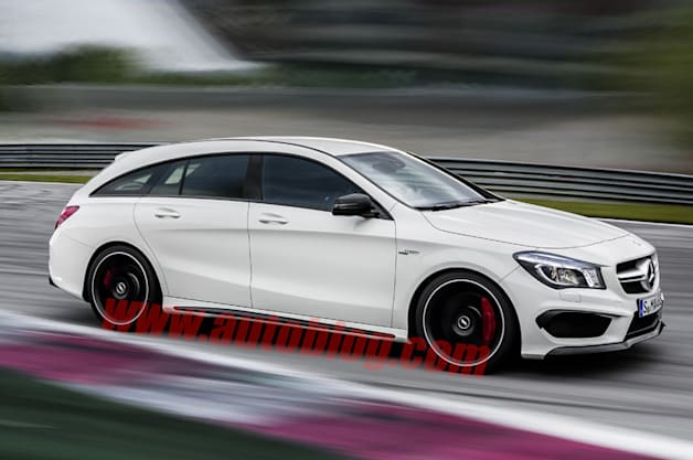 Mercedes CLA wagon rendering