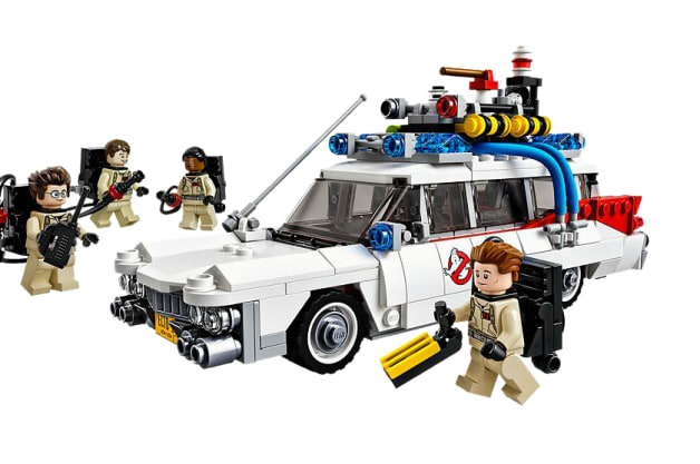 Lego Ghostbusters car