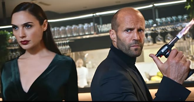 Gal Gadot & Jason Statham Kick Butt in Early Super Bowl 2017 Ad