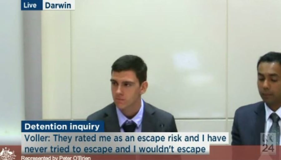 Dylan Voller was among the juvenile detainees at Don