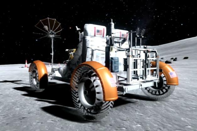 Gran Turismo 6 lunar rover