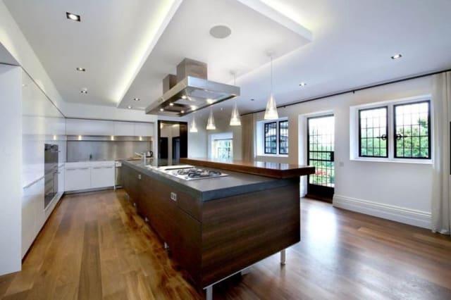 The kitchen of John Lennon's former home.