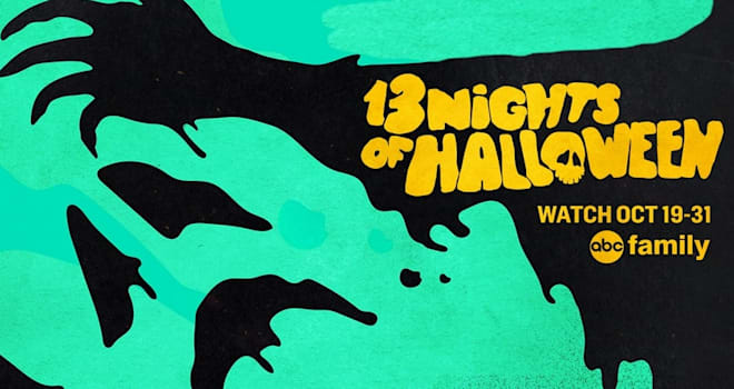 13 nights of halloween, abc family