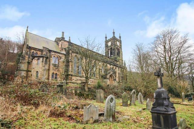 The Todmorden church