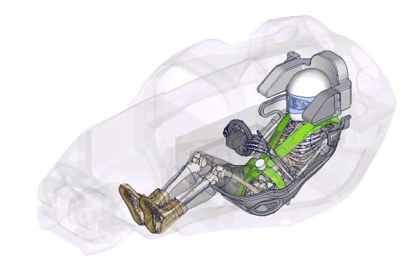 トヨタ バーチャル人体モデル thums を用いた4年間の共同研究契約を