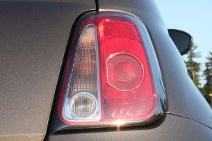 2013 Fiat 500e taillamp