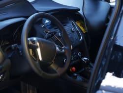 Ford Focus redesign spy shot interior