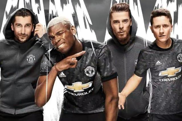 Manchester United kit away 2017/18