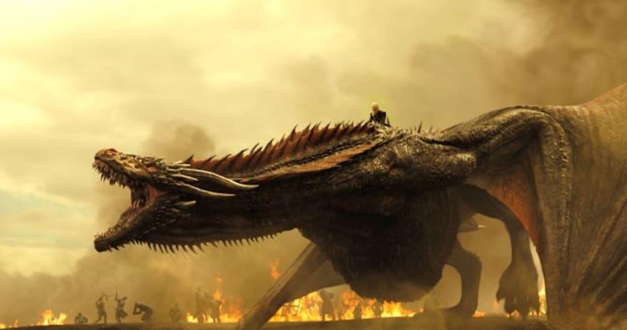 Game of ThronesTKSeason 7, Episode TKAir Date: TKEmilia Clark as Daenerys Targaryen and a Dragon