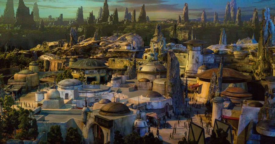 Disney shares first look of new Star War theme parks