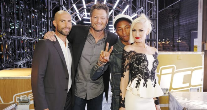 the voice, blake shelton, gwen stefani
