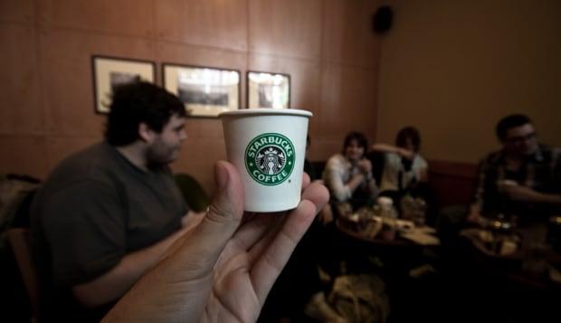 It's Starbucks!