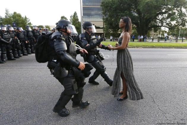 "REUTERS/Jonathan Bachman - ""Black Lives Matter"" à"