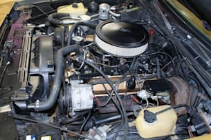 1980 Oldsmobile 442 engine