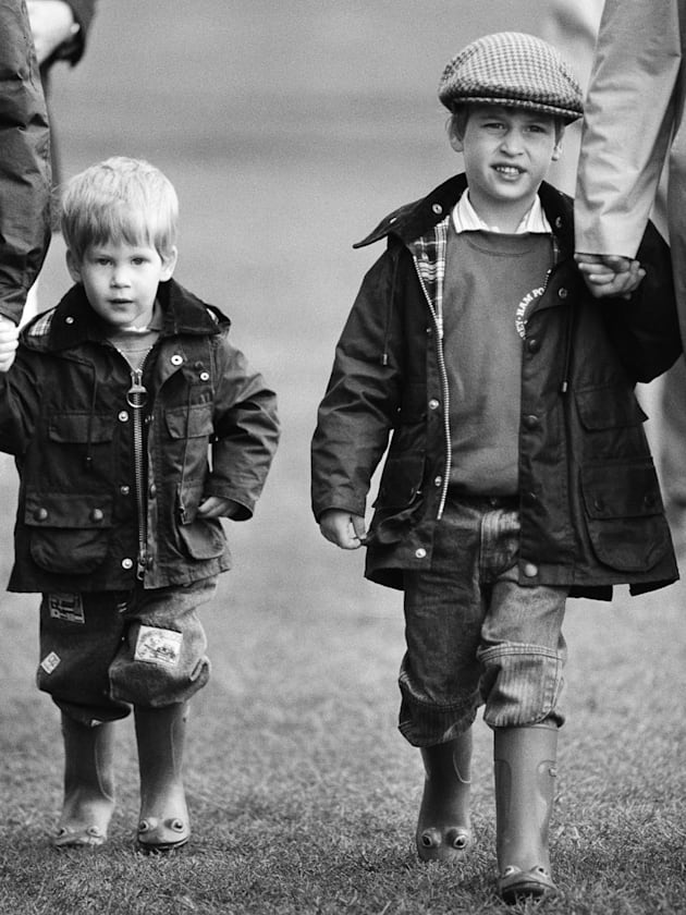 wellington boots prince harry prince william