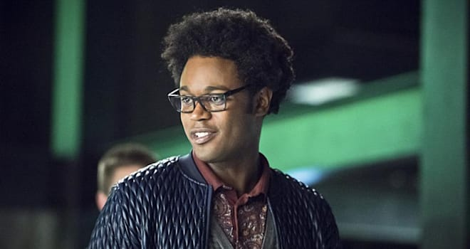 Actor Echo Kellum as Curtis Holt on The CW's ARROW