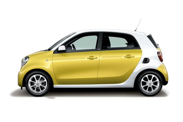 smart forfour Oct,2015