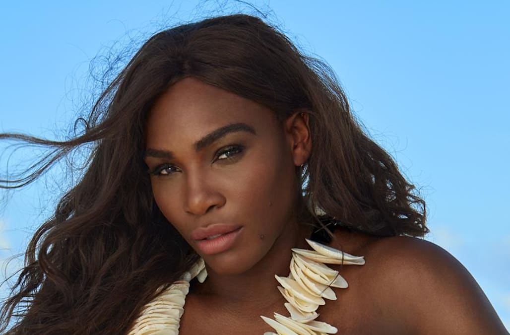Serena Williams Goes Topless In 2017 Sports Illustrated