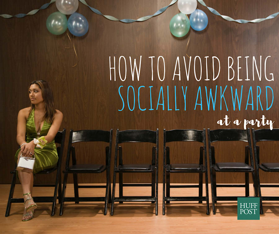 How To Avoid Being Socially Awkward At A