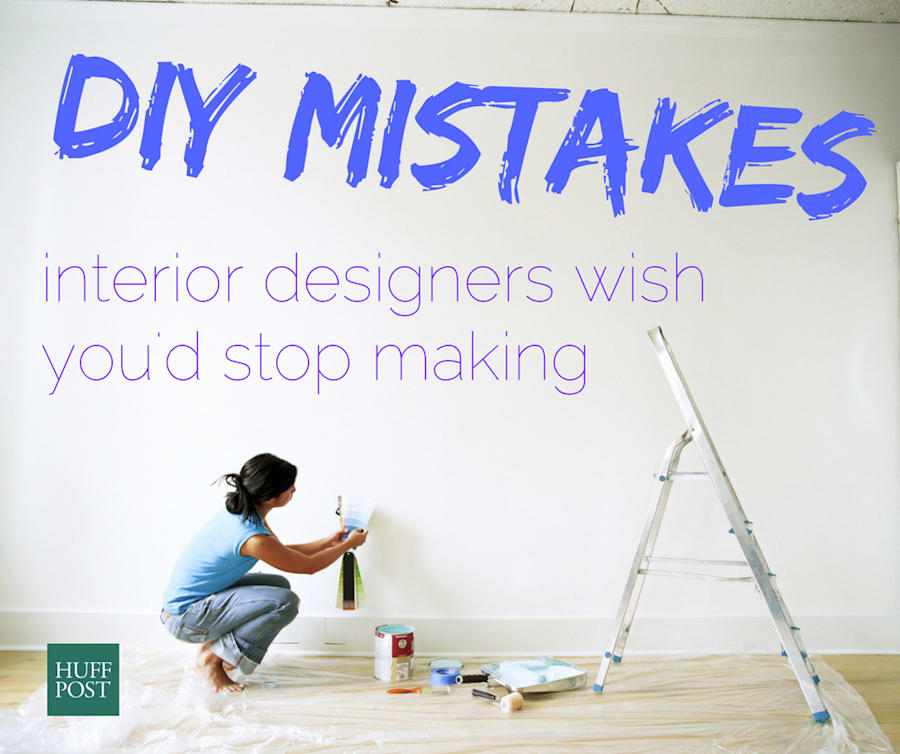 The DIY Mistakes Interior Designers Wish You'd Stop