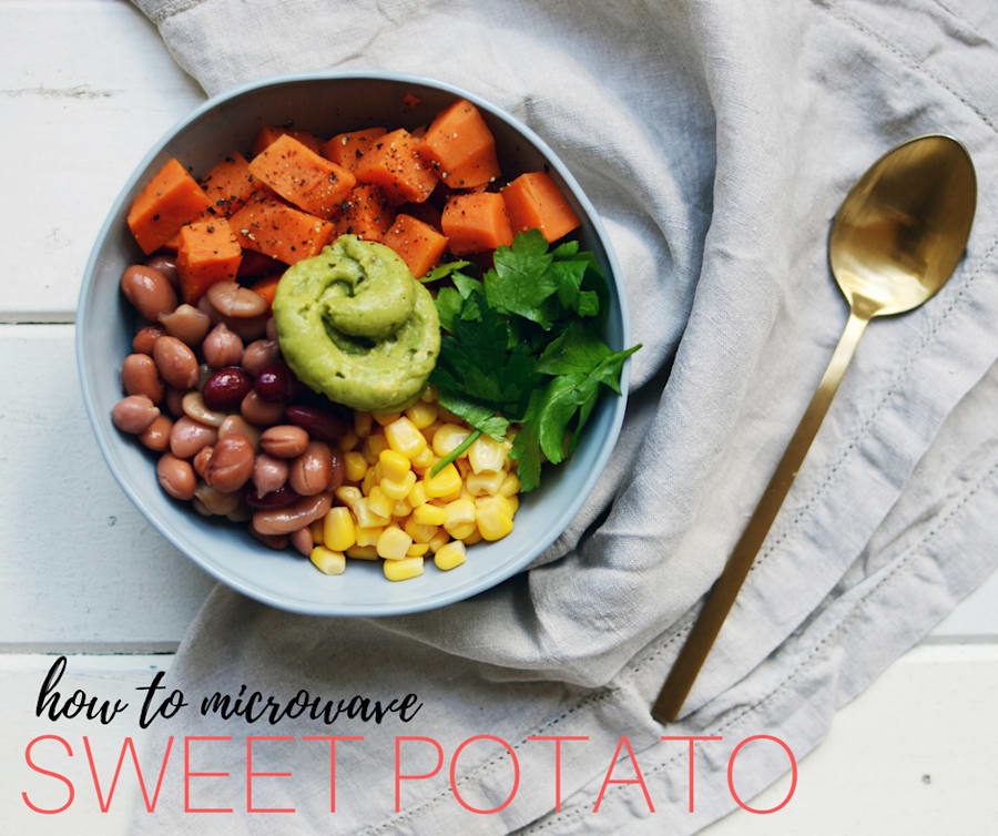 How To Cook Sweet Potato Three Ways