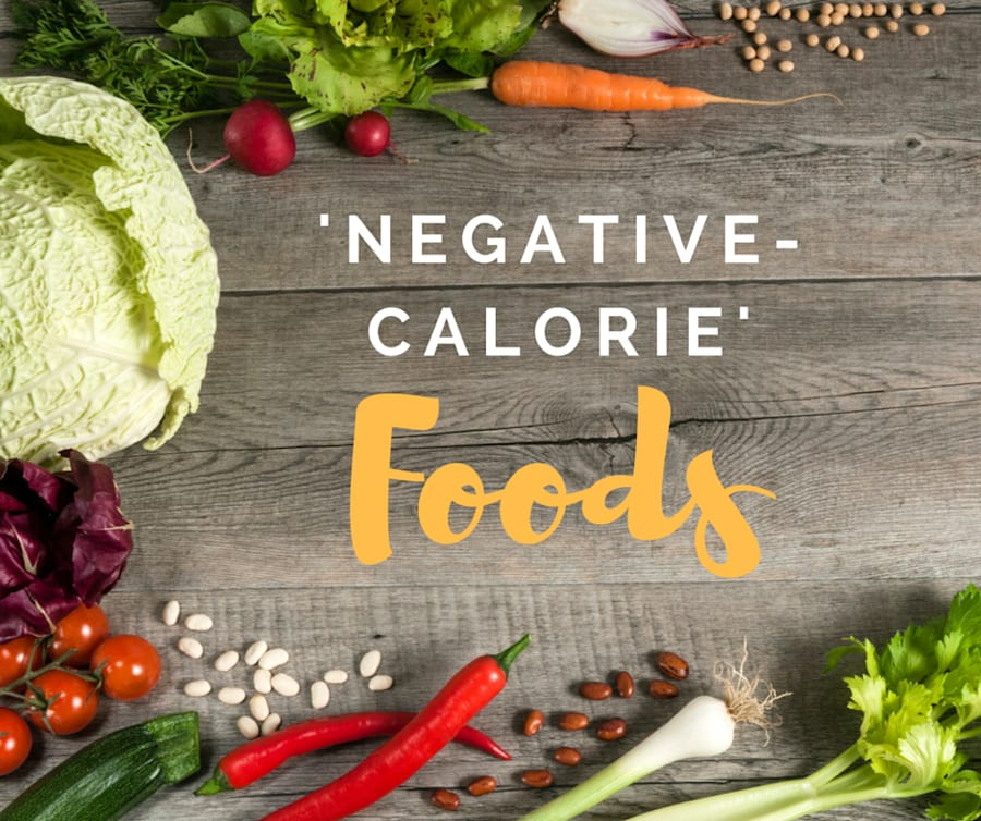 We Find Out If 'Negative-Calorie' Foods Really