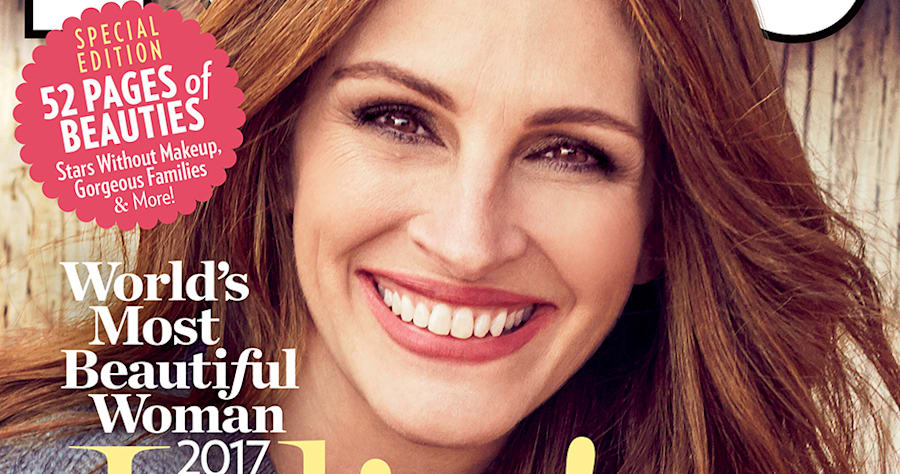 Julia Roberts In People's Cover