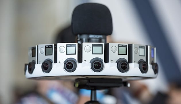 Still, there are a few obvious paths ahead for GoPro virtual reality and drones. Its already unveiled Odyssey, a crazy $15,000 rig for Googles Jump VR
