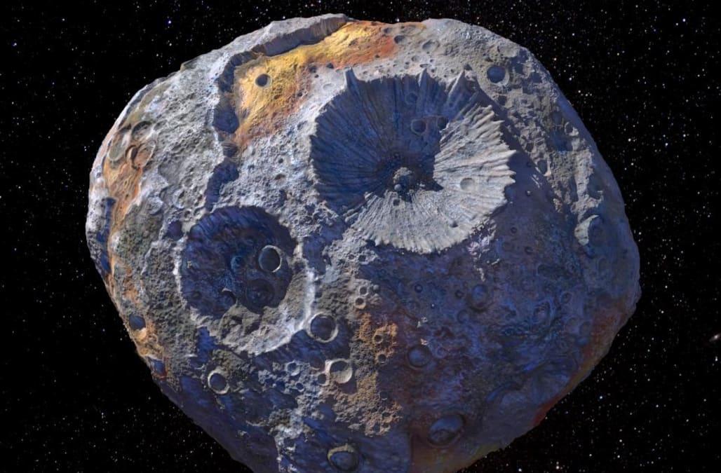 NASA announces plan to visit asteroid worth $10,000 quadrillion