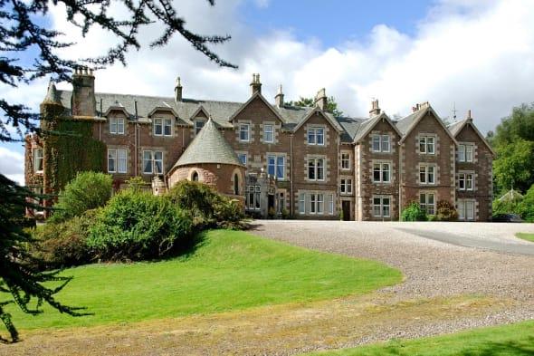 Andy Murray's hotel Cromlix House Scotland