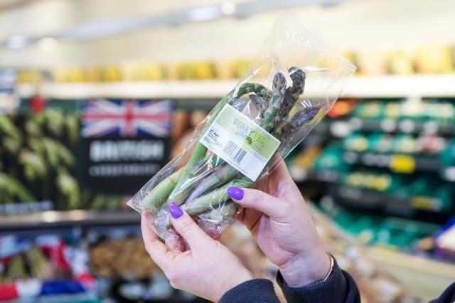 Morrisons' wonky asparagus