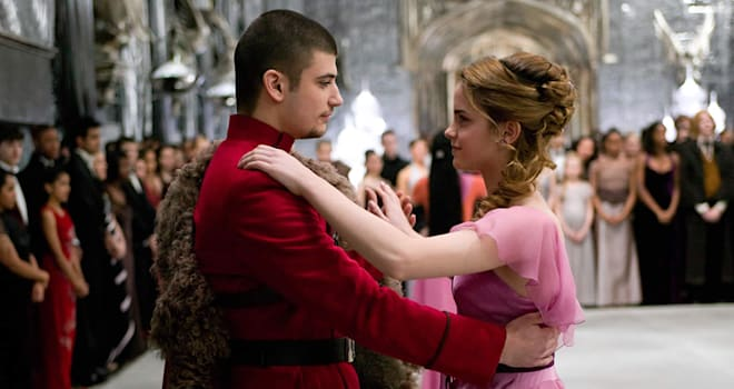 harry potter, deathly hallows, hermione, viktor krum, love triangle