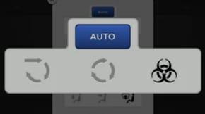 tesla model x launch biohazard button