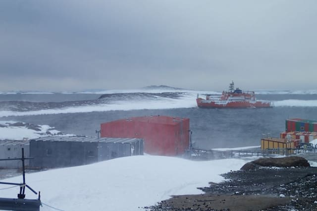 Antarctica explorers rescued after they were stranded on icebreaker ship