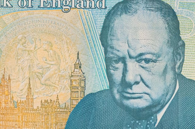 new £5 note