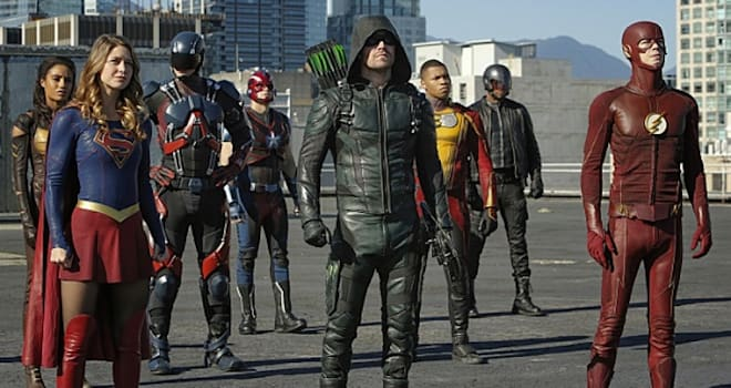 The CW DC crossover 2016