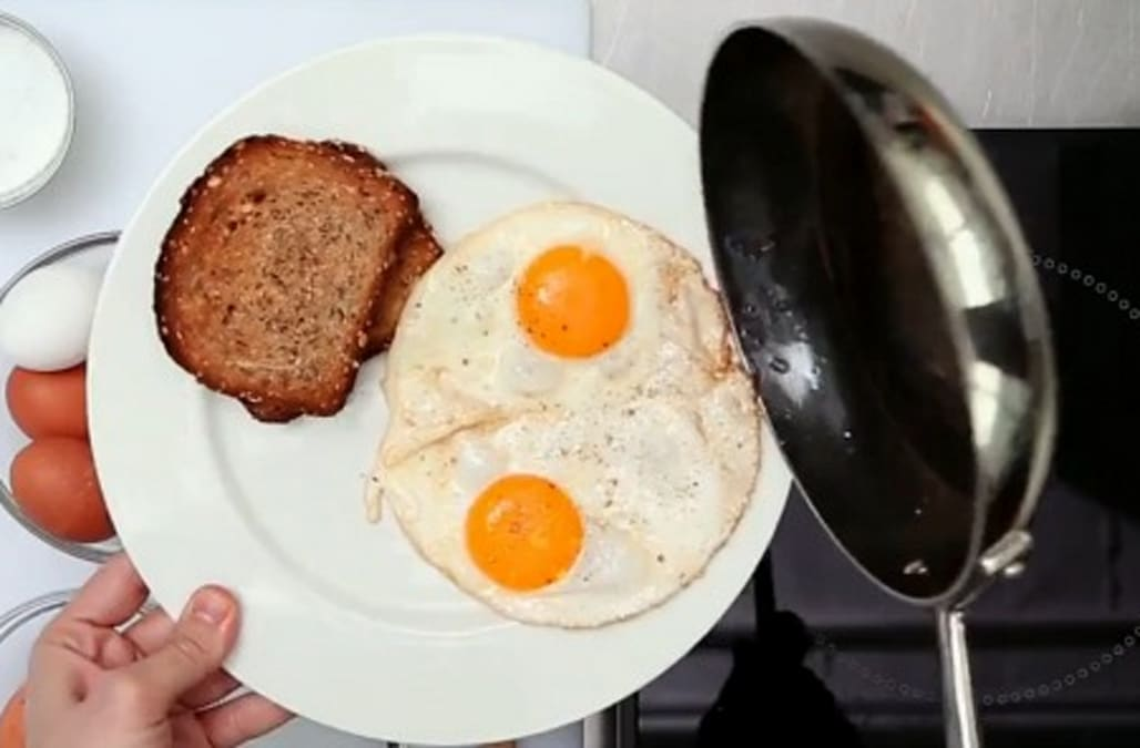 The Perfect Sunny Side Up Egg - AOL Food