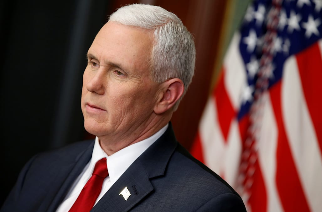 326bb9365b538 cbs46.com Pence   No comparison  to Clinton on use of private email