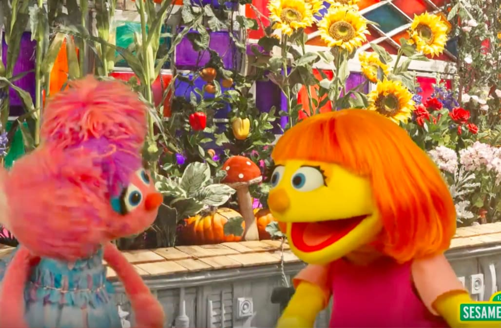 'Sesame Street' introduces Julia, their first-ever character with autism