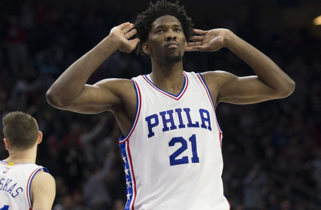 Philadelphia 76ers center Joel Embiid will miss the remainder of the season  to recover from a left knee injury 045f7227a