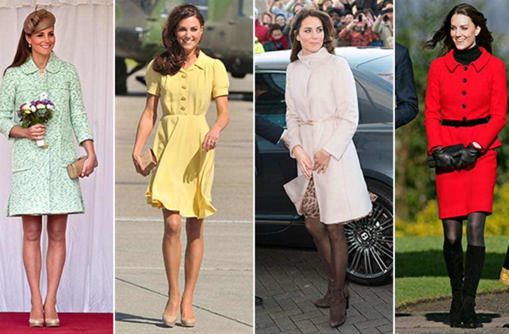 Kate Middleton 39 S Style Transformation All Of Her Best